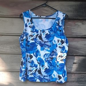 💙Just in 212 collection blue meadow Tank top